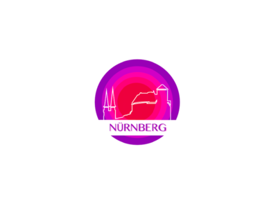 Nuremberg Geofilter Illustration