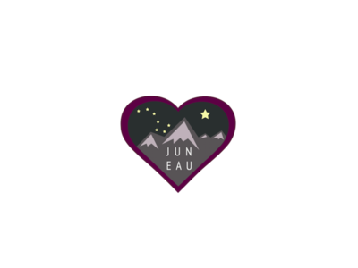 Juneau (Alaska) Geofilter Illustration