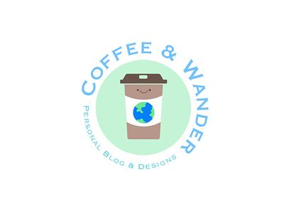 Blog Logo blog selfbranding typography illustrator freelance branding vector icon logo design