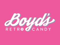 Boyd's Retro Candy Logo