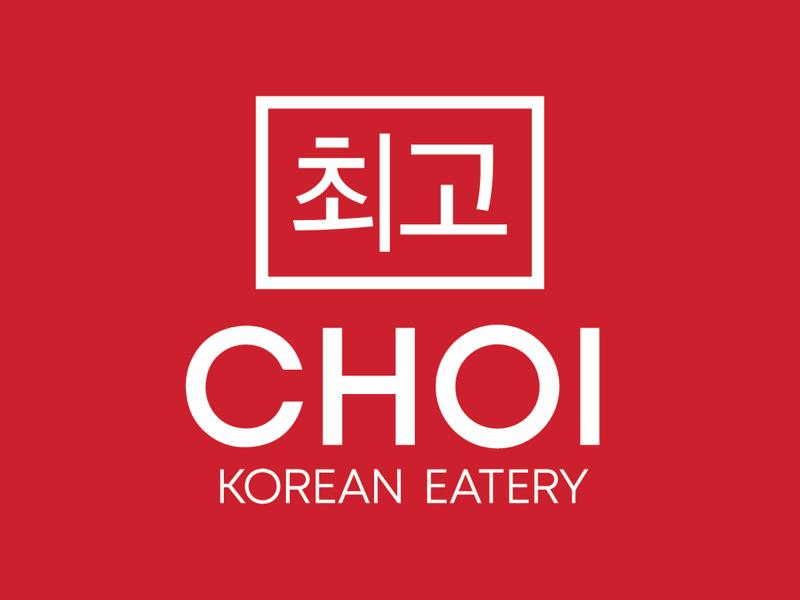 Choi Korean Eatery graphicdesign oriental wings bubbletea logo branding restaurant korean