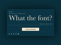 Day 061 - What The Font?