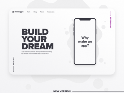 Messapps site new version