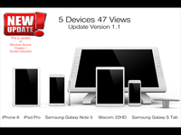 5 Devices 47 Views Update V 1.1