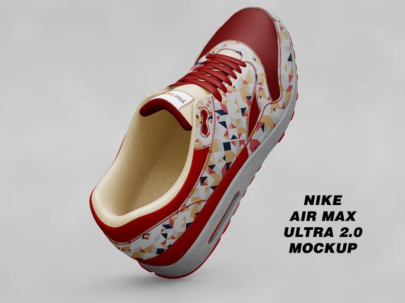 Nike Air Max Ultra 2 shoe mockup performance mockup air max mockup review mockup jordan mockup 2017 mockup shoes mockup adidas mockup sneakers mockup sneaker mockup airmax mockup nike mockup