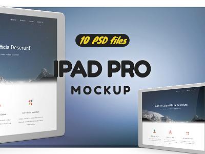 iPad Pro Mock-up vol1 mock-up up mock macbook plus 6 iphone air mini ipad apple app