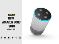New Amazon Echo Mockup