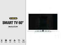 "Smart TV 60"" Mockup"