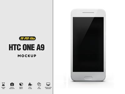 HTC One A9 Mockup