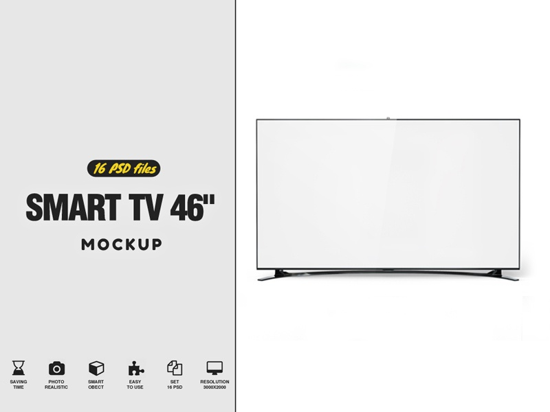 "Smart TV 46"" mahyar sakaki led display led lcd hd full hd display design curved tv clean cinema"