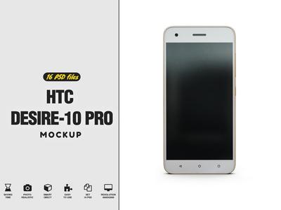 HTC Desire 10 Pro Mockup