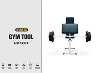 Gym Tool Mockup
