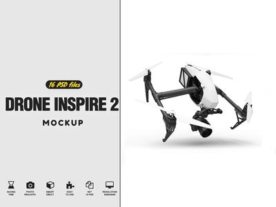 Drone Inspire 2 Mockup logo mock up drone logo template drone logo mockup drone logo drone