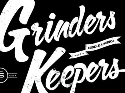 Grinders Keepers Painted Board - v2