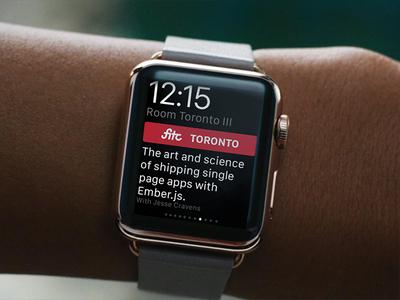 Event Watch App