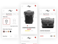 Peak Design Store | Mobile