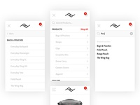 Peak Design Mobile | Navigation