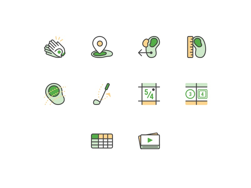 Sxs icons illustrations