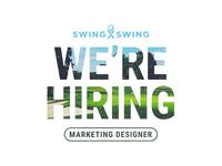 SxS Now Hiring - Marketing Designer