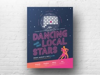 Dancing With Our Local Stars, Poster