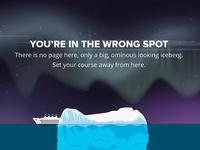 404 page - Iceberg