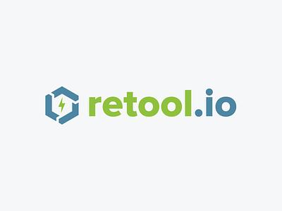 Retool Logo app builder app building branding logo