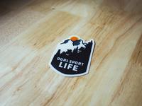 Dual Sport Life sticker