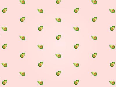 Avocado Pattern avocado fruit pattern logo illustrator design atlanta atl identity branding