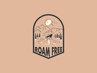 Roam Free Badge