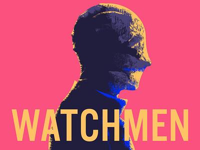 Watchmen tv vector illustrator illustration design
