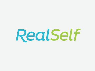 RealSelf Logo text logo