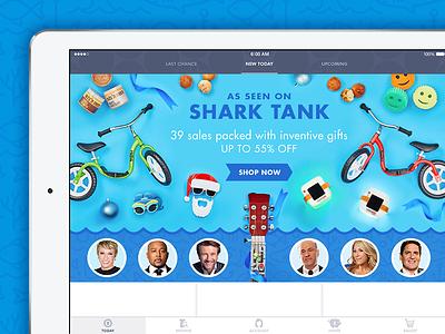 Shark Tank Treatment holiday shark homepage