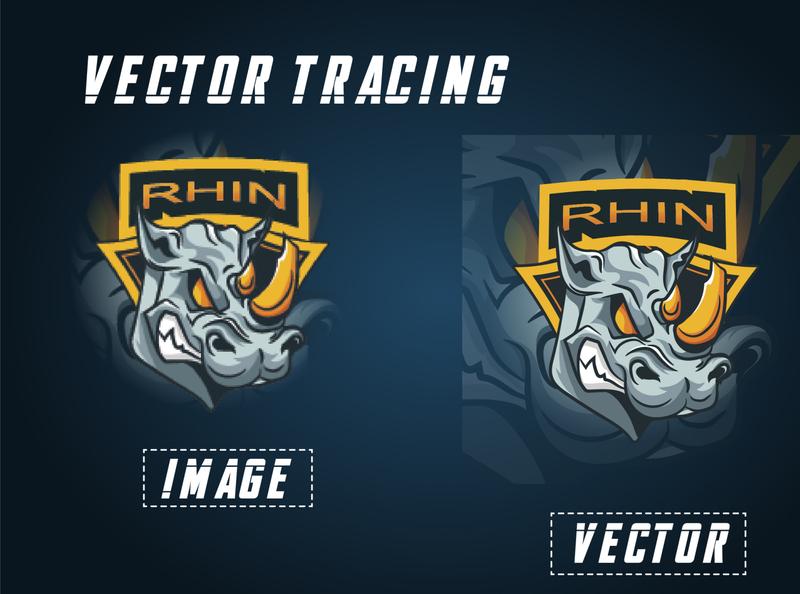 Mascot Logo redraw/vector tracing adobe photoshop logo branding typography design vectorart vector vectors vector illustration illustration adobe illustrator