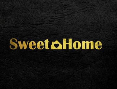 Sweet Home Logo Design ui adobe photoshop graphic design graphicdesign brand identity brand design brand logo design logodesign logotype logos typography branding logo illustration adobe illustrator