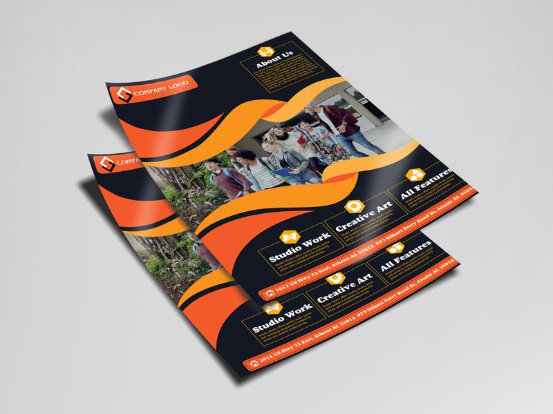 Business Flyer Design- 2020 poster poster design postcard menu design menu banner design banner ads banner ad banners banner flyer template flyer artwork flyer design flyers flyer design branding illustration adobe illustrator