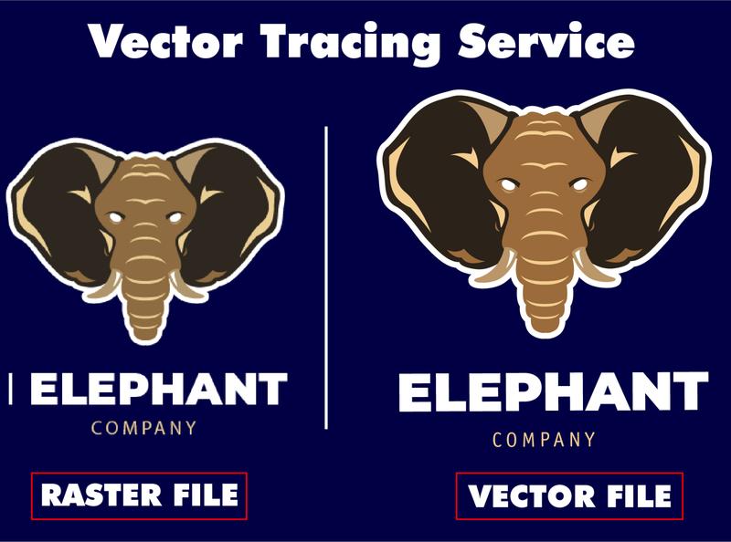 Vector Tracing/ Redraw Logo adobe photoshop vector icon vectors vector illustration typography design logo branding illustration adobe illustrator