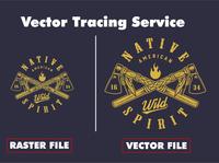 Logo Redraw/ Vector Tracing vectorart vector vectors vector illustration typography design logo branding illustration adobe illustrator