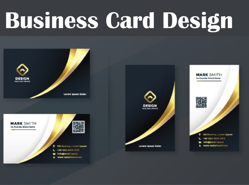 Two Page Business Card poster design poster business card design business cards business card business businesscard banner design adobe photoshop typography logo design branding illustration adobe illustrator