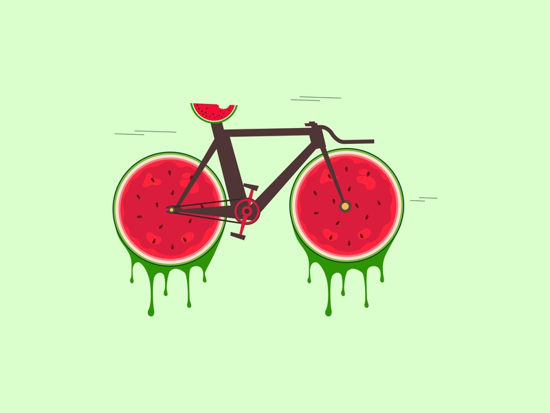 Watermelon cycle
