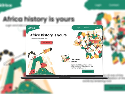 Africa Ui/ux africa graphicdesign userinterface ux ui design ui