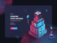 Sending voice wishes