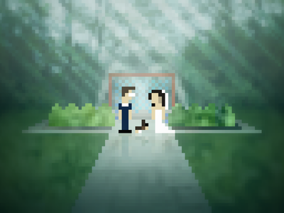 8-bit Wedding 8-bit wedding
