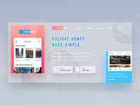 Holiday Homes Website Design