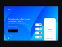 Taskzy Landing Page WIP