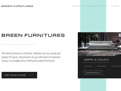 Hero Exploration typography color design figma flat hero interface landing modern ui vector web