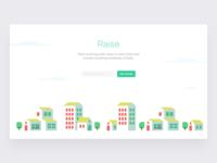 Raise Landing Page Illustration