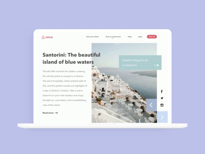 Travel Website Animation airbnb uxinteraction microinteraction daily ui uianimation webdesign uidesign uxdesign travel travel website animation ux userexperience design ui