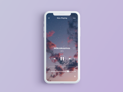 Music Player App ios music player army bts music player ui userinterfacedesign mobiledesign minimal music app music player app uxdesign uidesign mobile app ui design