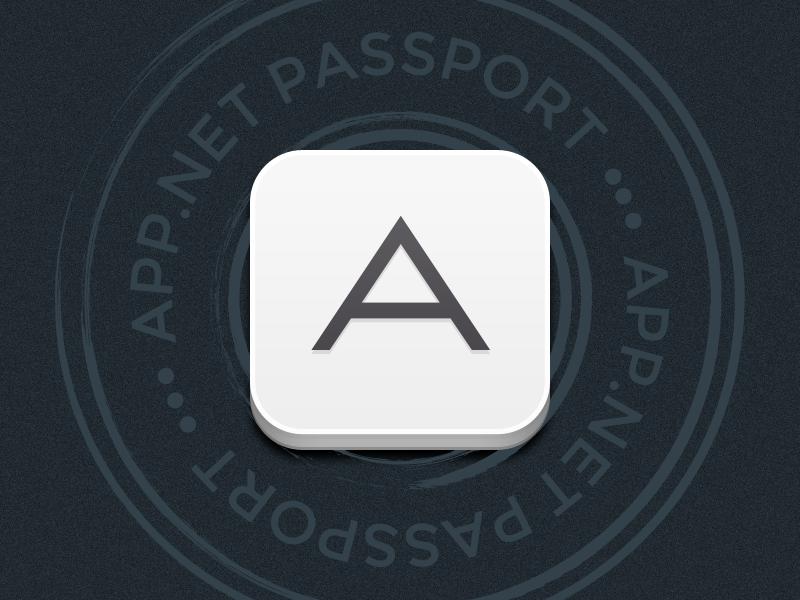 App.net Passport app.net passport ios icon