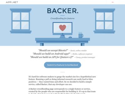 Backer by App.net
